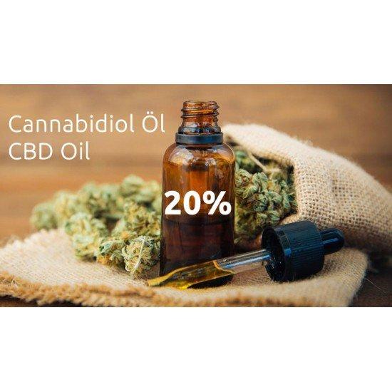 CBD Cannabidiol hempseed oil 20 %, 2000mg - 10ml